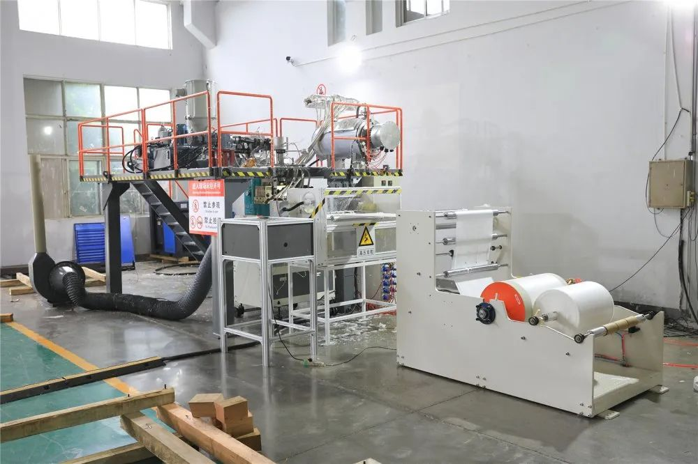 PP melt blown cloth production line